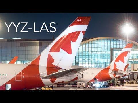 Air Canada Rouge Toronto-Las Vegas | Boeing 767-33A(WL) (C-GHPN) *60FPS*
