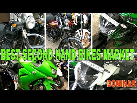 Best Second Hand Bikes Market | With Finance Facility | Karol bagh Delhi