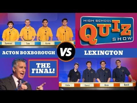 High School Quiz Show - Season 5 Championship: Acton-Boxborough vs. Lexington (515)