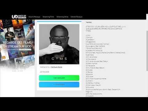 Télécharger gratuitementMaître Gims - Ceinture Noire Album complet avect pochette