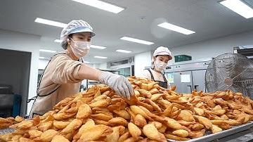 창업 1년만에 하루 10,000개 팔리는 야끼만두? 해외수출까지하는 당면듬뿍 튀김만두집┃Fried Dumpling, Korean street food