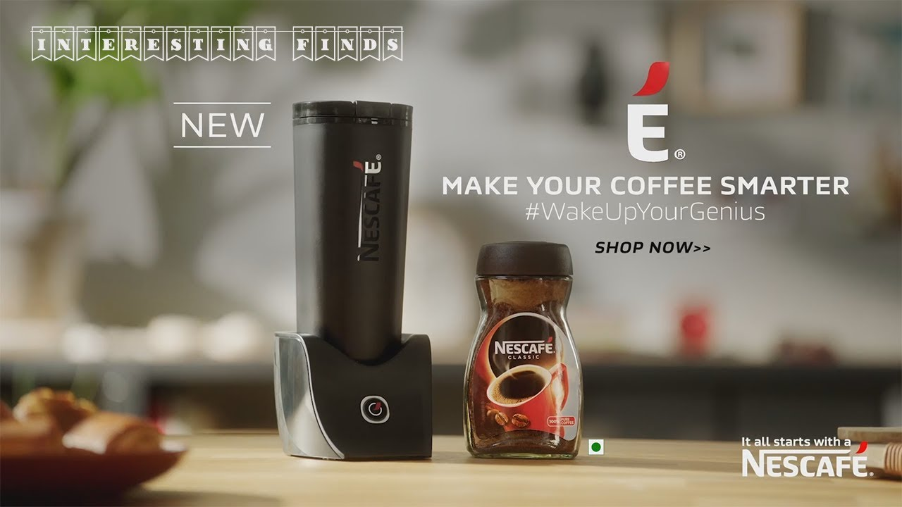 Nescafe E Smart Coffee Maker And Travel Mug Interesting Finds Youtube