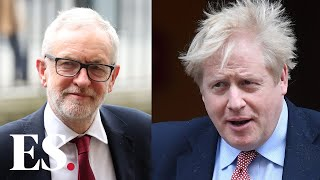 Boris Johnson pays tribute to Jeremy Corbyn on his final PMQs as Labour leader