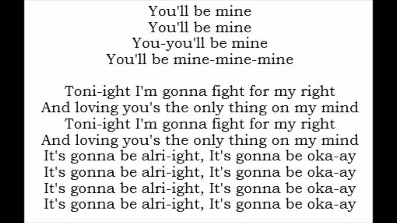 You'll Be Mine - Havana Brown (Lyrics) - YouTube