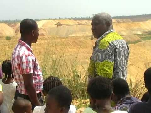 Mine de phosphate Togo jan 2010 / Fosfaatmijn Togo