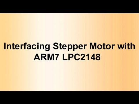 Arm7 Lpc2148 Motor With Arm7 Lpc2148