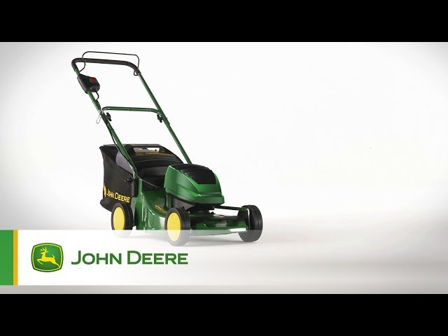 John Deere R43B Battery Mower - Walkaround Video