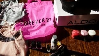 Mes derniers achats mode et beauté (Forever 21, Kiko, Yankee candle, Aromazone...)