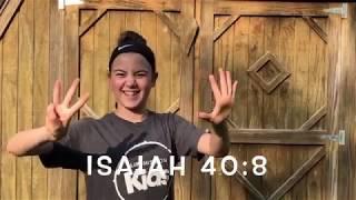 Isaiah 40:8 Bible Verse Song And Movements