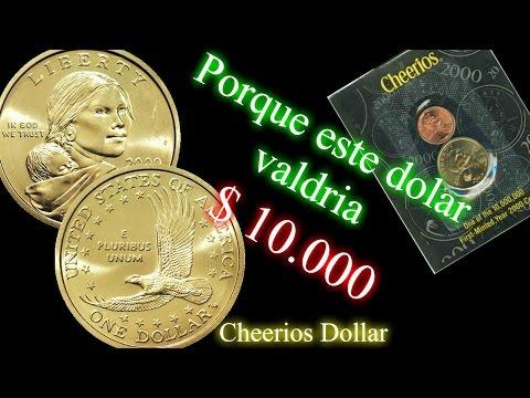 Porque este dólar valdria $10.000 dólares- CHEERIOS DOLLAR- Sacagawea dollar