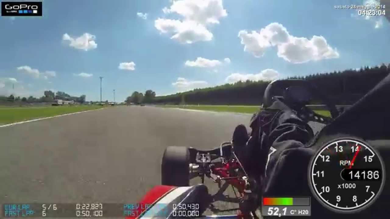 Dashware GoPro Test Kart Andrea Borghetti