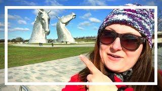 Największe głowy koni na świecie | Kelpies w Falkirk