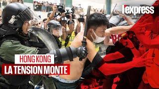 Hong Kong : la tension monte entre la police et les manifestants