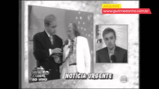 Gugu Liberato informa estado de saúde de Rony Cócegas (1999)