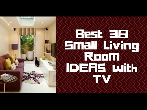 Best 38 Small Living Room Ideas With Tv Youtube