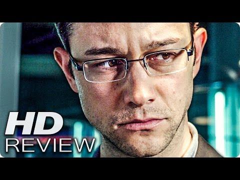 SNOWDEN Kritik Review & Trailer Deutsch German (2016)