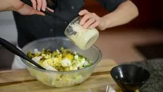 Dad's Famous Potato Salad/ How To Properly Hard Boil An Egg/ Homemade Mayonnaise