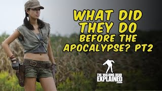 The Walking Dead - What did they do before the apocalypse! Pt2