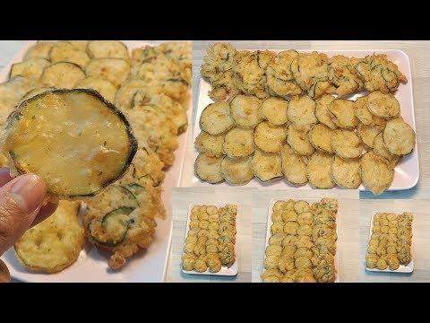 tempura-(-beignet)-de-courgettes🥒😋