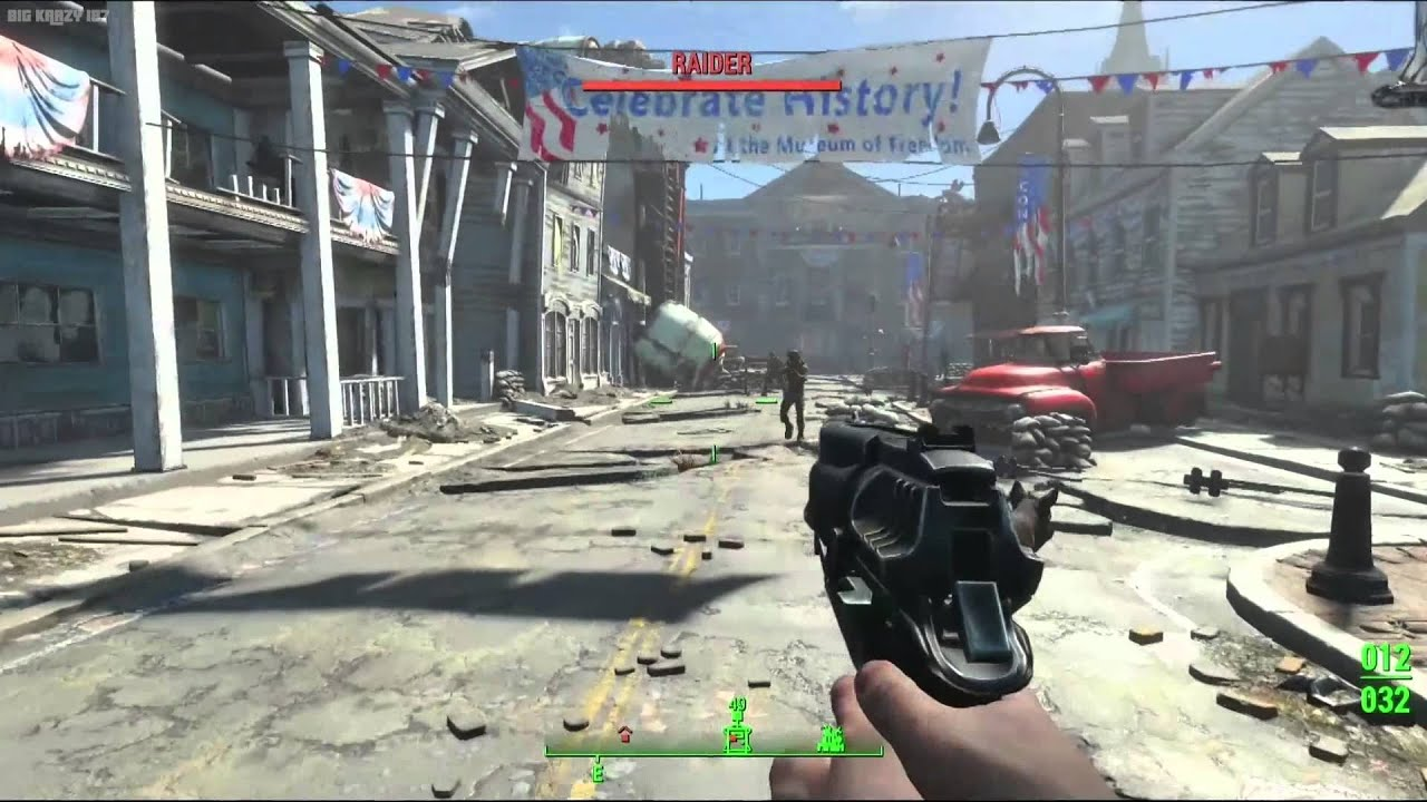 Fallout 4 Xbox One Gameplay Demo E3 2015 HD 1080p - YouTube