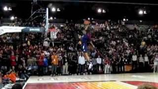 James White (Dunk #1) - 2009 NBA D-League Dunk Contest Video