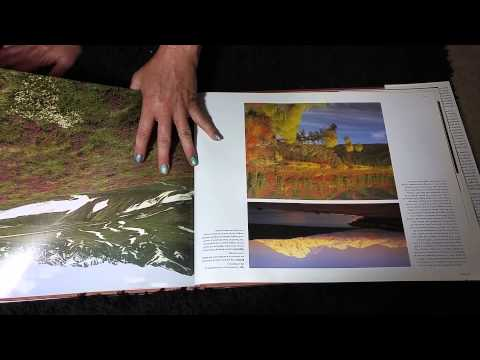 ASMR- Page turning Coffee table book with HEAVY pages - Silent-No Speaking