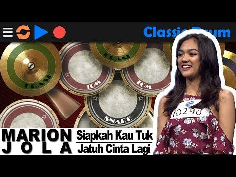 Classy Drummer ft Marion Jola - Siapkah Kau Tuk Jatuh Cinta - Drum Cover