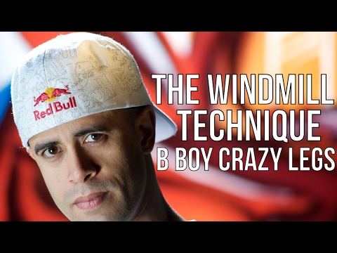 HOW I CREATED THE WINDMILL | BBoy Crazy...