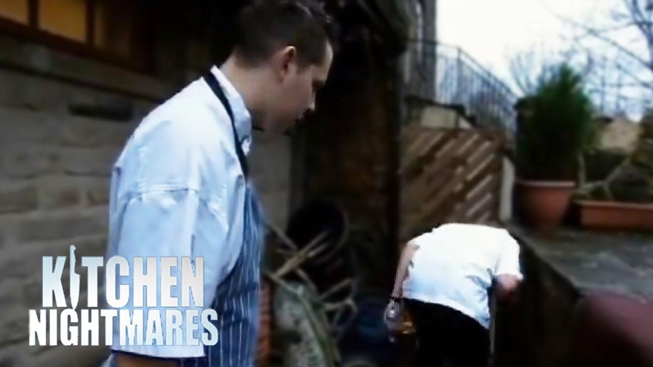 Chef Serves Rancid Scallops to Gordon Kitchen Nightmares