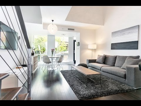 1451 Howe Street, Modern Loft Townhouse, Pomaria, Yaletown Vancouver