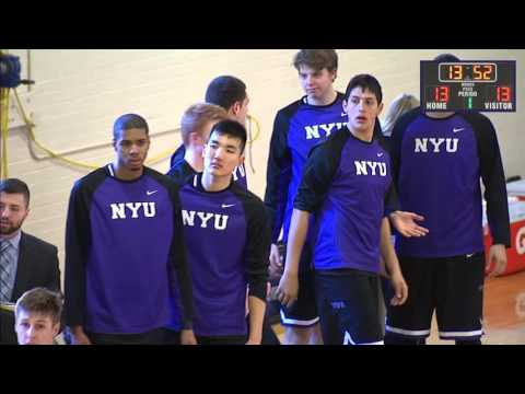 Case Western Reserve University vs. New York University (Men's Basketball - 1st Half)