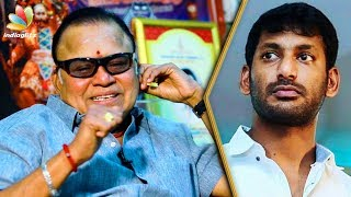 Vishal Distracts the Public with Film Industry Strike : Radha Ravi Interview | Producer Council thumbnail