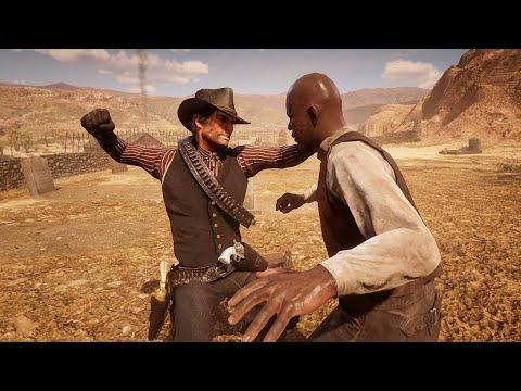 Red Dead Redemption 2 PC  Brutal Fighting & Funny Ragdolls Vol.88 [4K/60FPS]