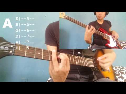 Sit Next To Me Foster The People Tutorial Cover Guitarra Bajo Chords Tab In Description