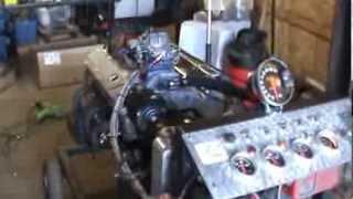 hamilton 355 street motor hyd roller 190 runner heads nice little sbc