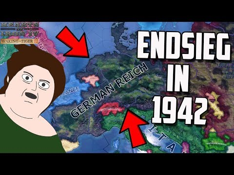 Germany Endsieg in 1942! Fixing Your Disaster HOI4 Savegames