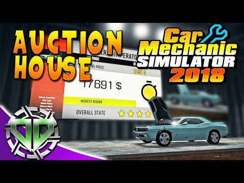 Car Mechanic Simulator 2018 : Auction House & Money from Parts! (PC)