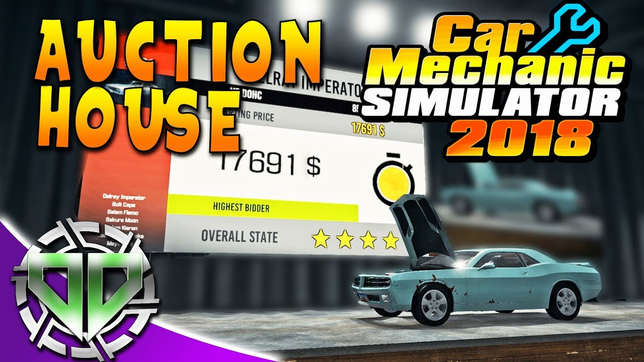 Car Mechanic Simulator 2018 : Auction House & Money from Parts! (PC ...