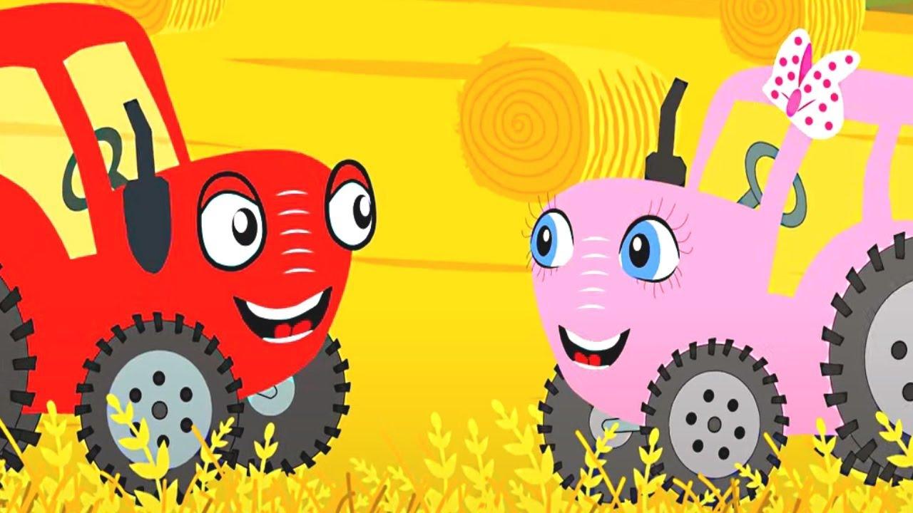 Тыр Тыр трактор песенки - Английский алфавит! + Вирусы - весёлые песенки для детей