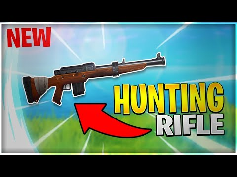 Fortnite *NEW* Lucky Land + Hunting Rifle Gameplay