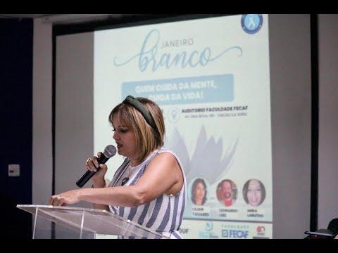 """Evento do """"Janeiro Branco"""" discute a importância da saúde mental"""