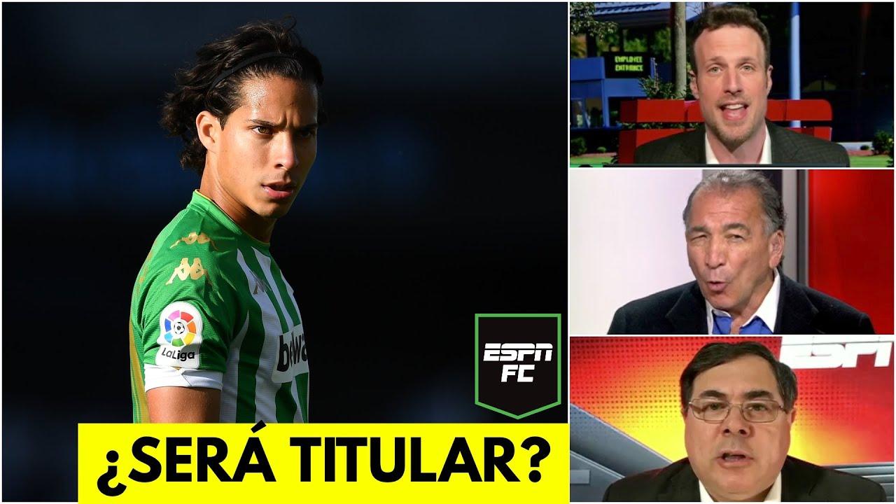 Download VUELVE DIEGO LAINEZ. El mexicano estará en el Betis vs Bayer Leverkusen de Europa League | ESPN FC
