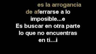 Karaoke Ricardo Arjona - El Amor (RIGO).avi