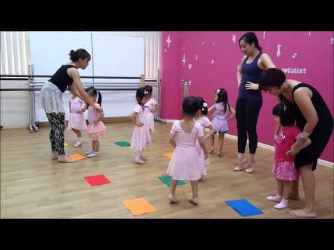 Maggie's 1st Ballet Lesson