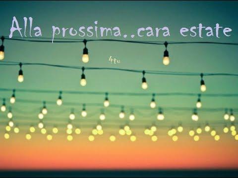 Canzoni E Poesie Damore Recitate Sulla Fine Dellestate E Su
