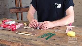 How to with Cass Art: Air Drying Clay