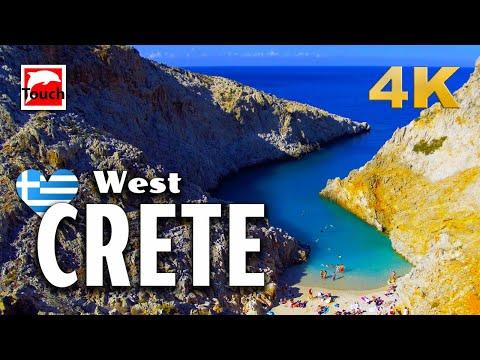 West CRETE (Kreta, Κρήτη), Greece ► Best Places to Visit in 109 Minutes 4K