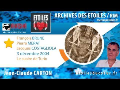 Pierre MERAT, Père François BRUNE, J. COSTAGLIOLA   Le suaire de Turin   Archive RIM