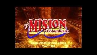la mision colombiana amarillo azul y rojo