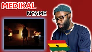 Download Medikal - Nyame (Official Music Video) Freezy Reaction